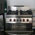 Cocina gas cuatro fuegos