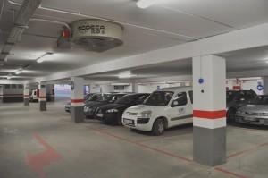 Extractor humos parking