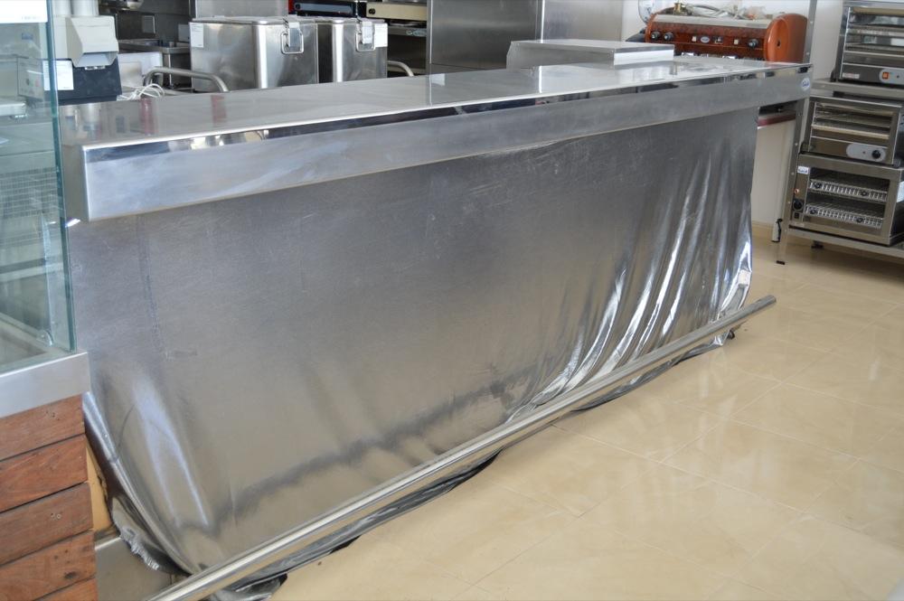 Barra inox climator ibiza for Cocina bar segunda mano